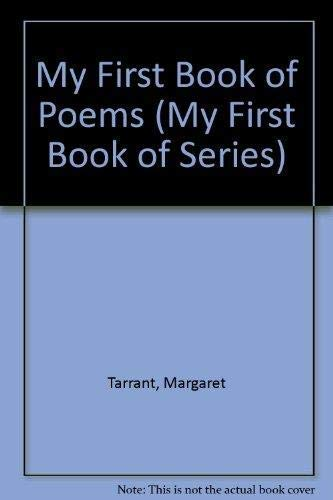 9781870461726: My First Book of Poems (My First Book of Series)