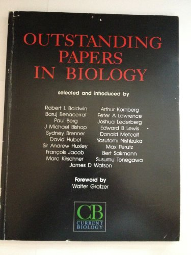 Outstanding Papers In Biology: Baldwin, Robert