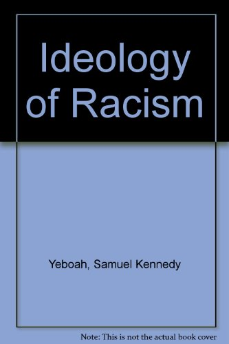 9781870518086: Ideology of Racism