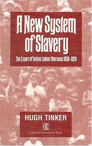 New System of Slavery (Hansib Educational Book): Tinker, Former Professor