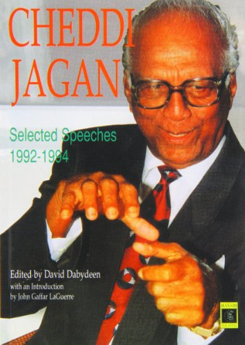 9781870518499: Cheddi Jagan Selected Speeches
