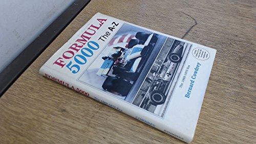 9781870519526: Formula 5000: The A-Z - The 1969-1975 Era