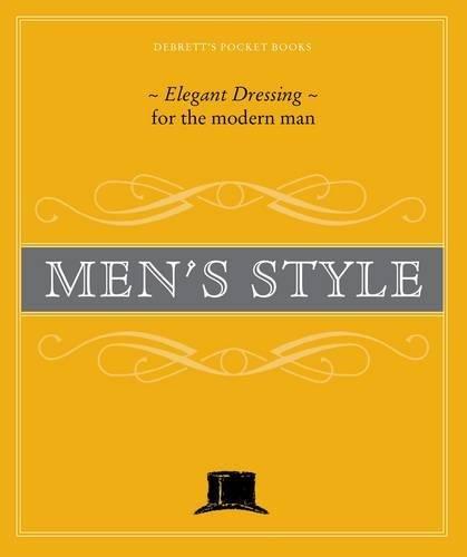 9781870520003: Debrett's Men's Style