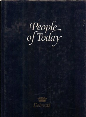 People of Today: Edited By Patricia Ellis