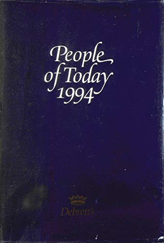9781870520195: Debretts People of Today 1994