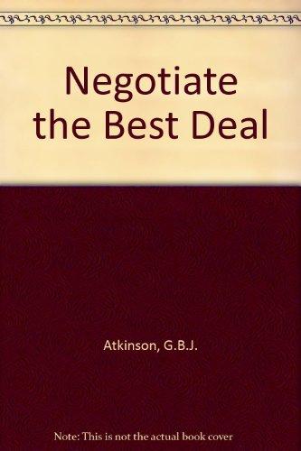 9781870555746: Negotiate the Best Deal