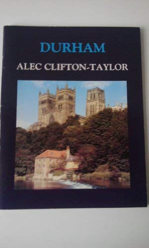 Durham (9781870567367) by Clifton-Taylor, Alec