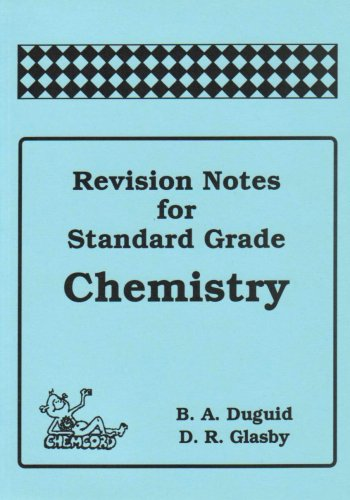 9781870570381: Revision Notes for Standard Grade Chemistry