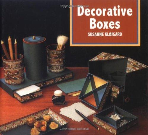 Decorative Boxes: Klojgard, Susanne