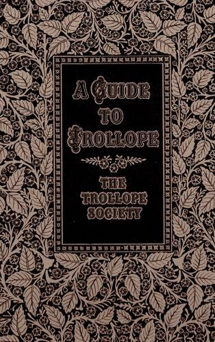 9781870587006: A Guide to Trollope