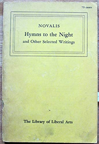 Novalis: Hymns to the Night: Reed, Jeremy (Trans.)