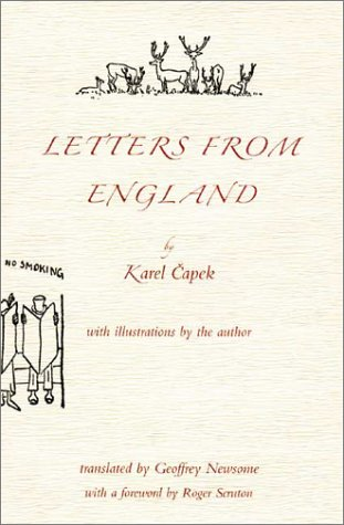 Letters from England: Capek, Karel