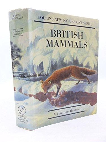 9781870630689: British Mammals (Collins New Naturalist Series)