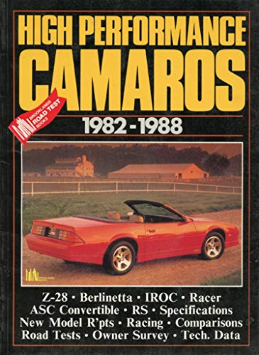 9781870642064: High Performance Camaros (Brooklands Books Road Tests Series)