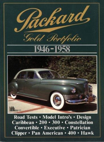 Packard Gold Portfolio, 1946-58: R.M. Clarke