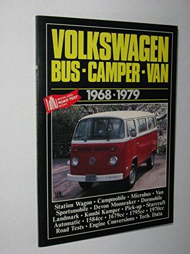Volkswagen Bus Camper Van 1968-1979: Clarke, R.M.