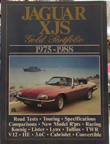 9781870642323: Jaguar XJS Gold Portfolio 1975-1988