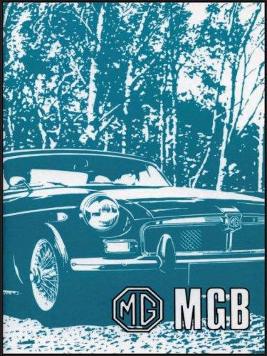 MG MGB Tourer and GT: Owners Handbook: Brooklands Books Ltd