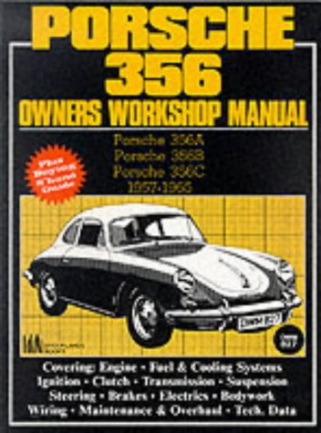 9781870642590: Porsche 356 Owners Workshop Manual 1957-1965 (Brooklands Books)