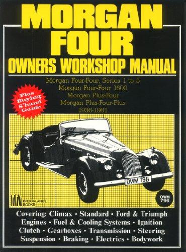 9781870642637: Morgan 4 AB Workshop Manual