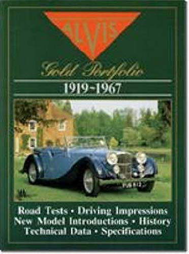 9781870642842: The Alvis Road Test Book: The Alvis Gold Portfolio, 1919-67