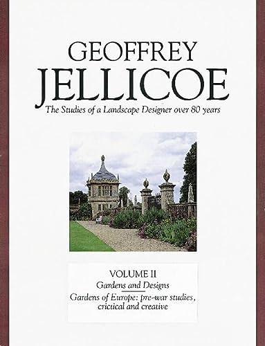 9781870673075: Geoffrey Jellicoe Vol. II: The Studies of a Landscape Designer Over 80 Years: