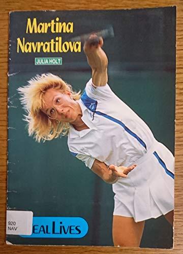 9781870741903: Martina Navratilova (Real Lives)