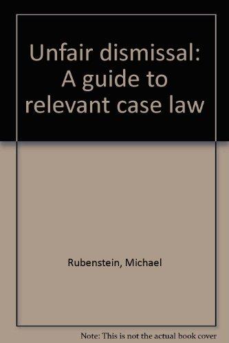 unfair dismissal case study uk