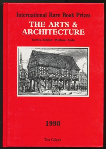 International Rare Book Prices , the Arts & Architecture 1990