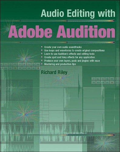 9781870775946: Audio Editing with Adobe Audition