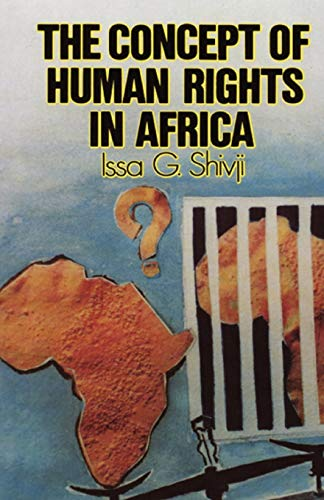 9781870784023: The Concept of Human Rights in Africa (Codesria Book Series)