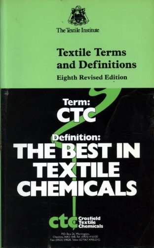 Textile Terms and Definitions: Carolyn A. Farnfield,