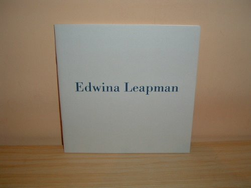 9781870814959: Edwina Leapman: Paintings