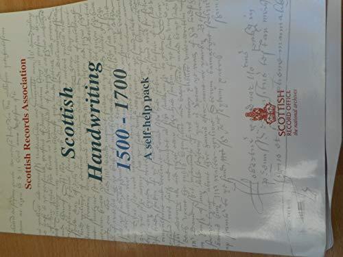 9781870874045: Scottish handwriting 1500-1700: A self-help pack