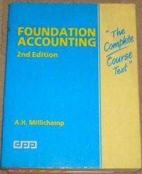 Foundation Accounting: Millichamp, Alan H.