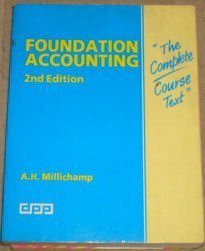 9781870941389: Foundation Accounting