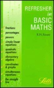 Refresher in Basic Mathematics (Accounting Textbooks): Rowe, R.N.