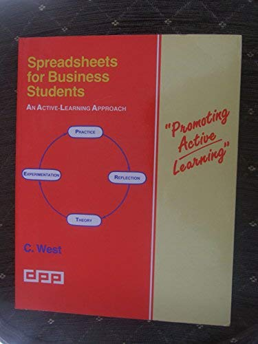 9781870941839: Spreadsheets for Business Students: An Active Learning Approach (Promo active learning)