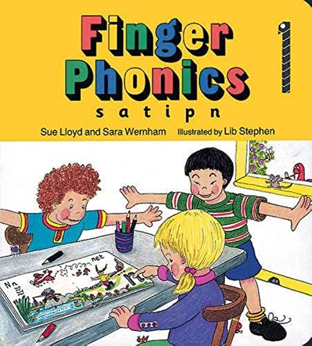 9781870946247: FINGER PHONICS BOOK 1: in Precursive Letters (British English edition): Vol. 1 (Jolly Phonics: Finger Phonics)