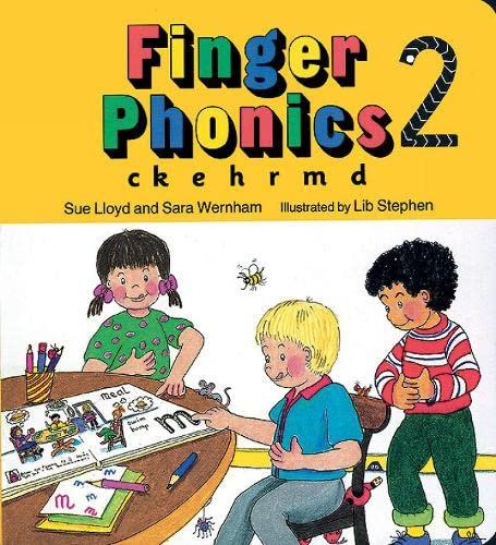 9781870946254: Finger Phonics book 2: in Precursive Letters (BE): Ck, E, H, R, M, D (Jolly Phonics: Finger Phonics)