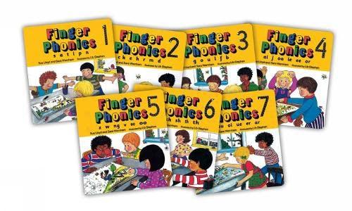 9781870946315: Finger Phonics (7 Books in Series) (Books 1-7)