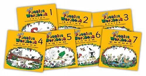 9781870946506: Jolly Phonics Workbooks (juego de 7 libros)