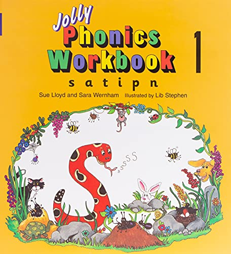 9781870946513: Jolly Phonics Workbook 1: in Precursive Letters (BE): S, A, T, I, P, N