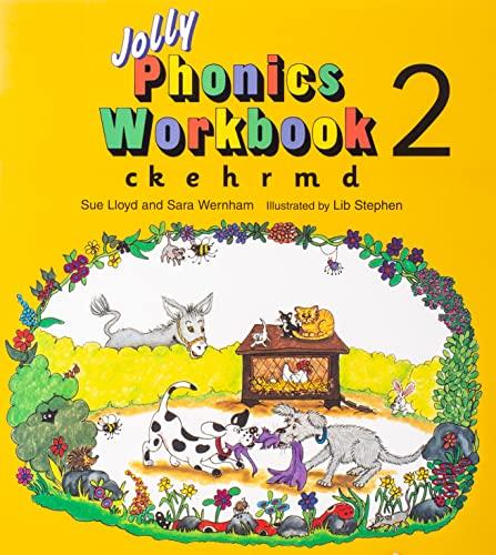 9781870946520: Jolly Phonics Workbook 2: in Precursive Letters (BE): Ck, E, H, R, M, D