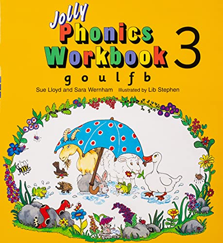 9781870946537: Jolly Phonics Workbook 3: in Precursive Letters (BE): G, O, U, L, F, B