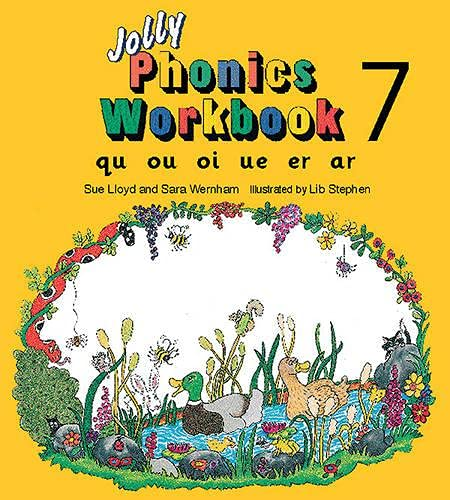 9781870946575: Jolly Phonics Workbook 7: Qu, Ou, Oi, Ue, Er, Ar