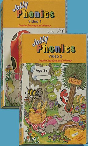 9781870946650: Jolly Phonics: Video Twin Video Pack