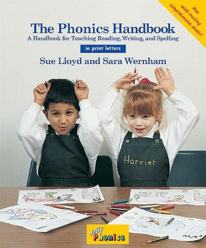 9781870946957: The Phonics Handbook in Print Letter: A Handbook for Teaching Reading, Writing and Spelling (Jolly Phonics)