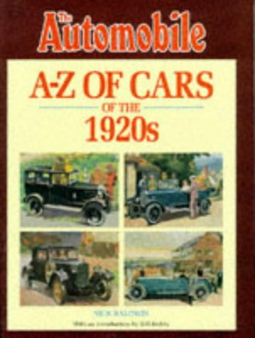 A-Z of Cars of the 1920s: Baldwin, Nick