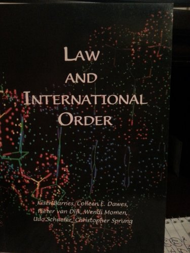 Law and international order: Proceedings of the First European Baha'i Conference on Law and ...